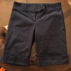 Navy rue 21 Bermuda shorts